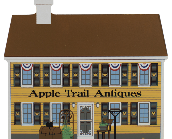 Apple Trail Antiques, antiques, quilts, America's back roads