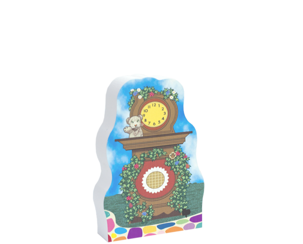 Mister Rogers, Daniel S Tiger Cuckoo Clock handcrafted by Cat's Meow Village in Wooster, Ohio.