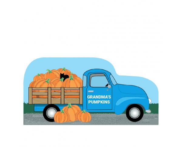 Vintage Pumpkin Farm Truck, PURRsonalize Me!