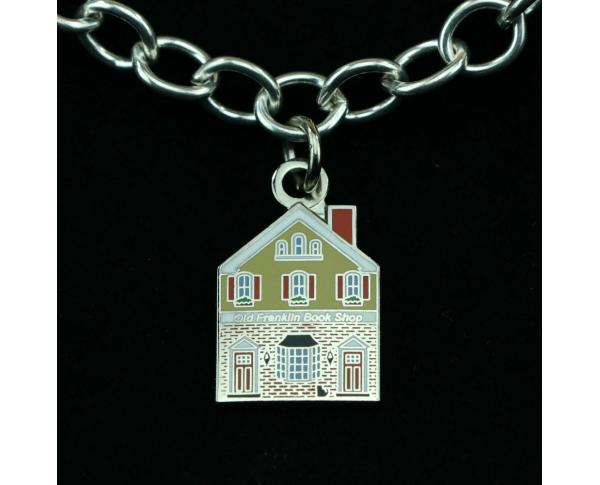 Wear a Village on your wrist! Bookstore Charm by The Cat's Meow Village