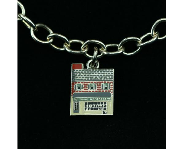 Wear a Village on your wrist! Apothecary Charm by The Cat's Meow Village