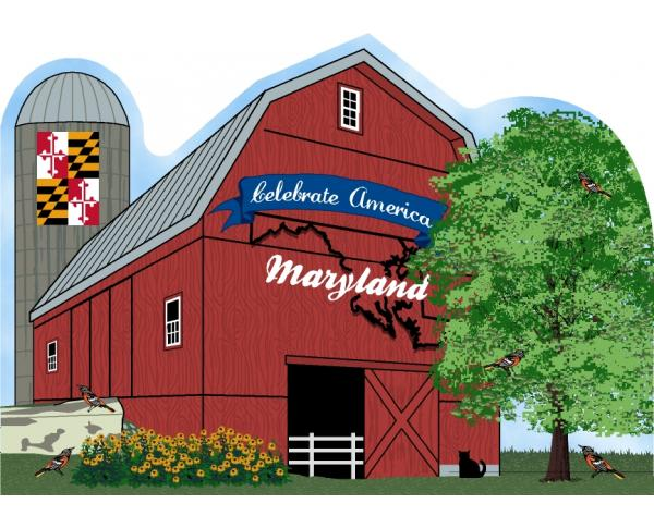 Cat's Meow Maryland State Barn