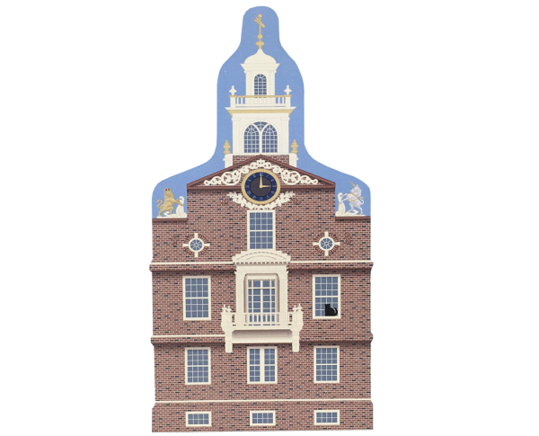 Add this Old State House to your home display to remind you of the fun times you had while there! Handcrafted in the USA by The Cat's Meow Village.