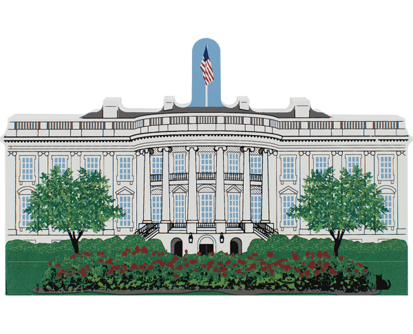 Cat's Meow replica of The White House, Washington, D.C.