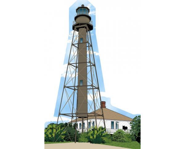 Cat's Meow replica of Sanibel Lighthouse on Sanibel Island, FL