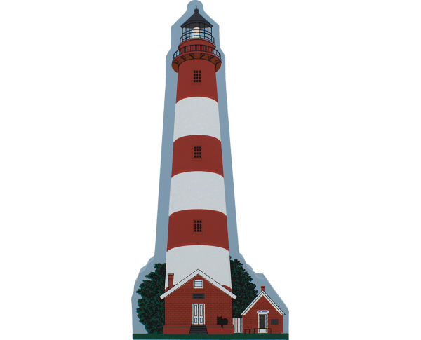 Assateague Lighthouse, lighthouse, Assateague Island, Chincoteague Island, Virginia, nautical,