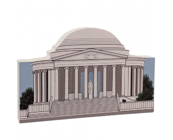 Jefferson Memorial, Natl Mall & Memorial Parks, Washington DC, handcrafted by Cat's Meow Village