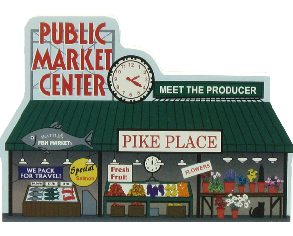 Pike Place Market, Seattle, Washington / Public Market Center, Pike Place Fish Company