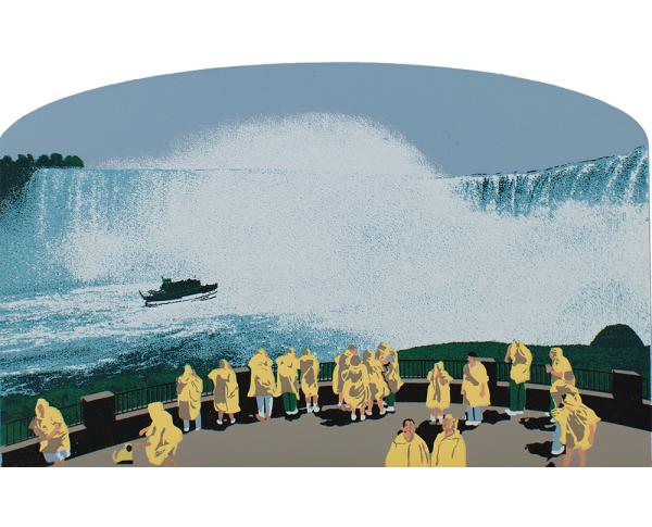 Niagara Falls table rock and horseshoe falls.