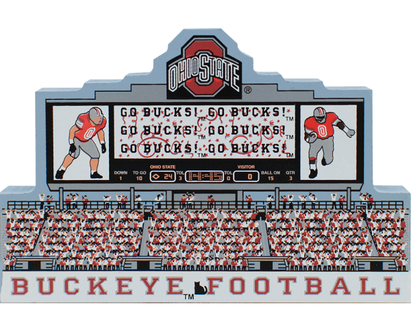 OSU, Ohio State University, Buckeye Football, Columbus, Ohio, The Horseshoe, Coach Woody,Scarlet & Gray,