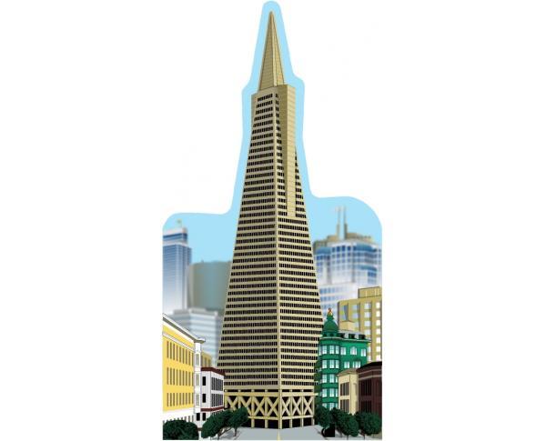 Cat's Meow replica of the Transamerica Building in San Francisco, California