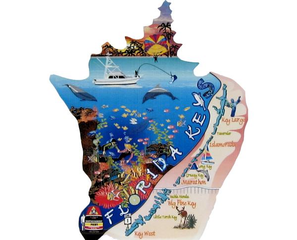 Florida Keys, Overseas Highway, Route 1, Duck Key, Marathon, Big Pine Key, Key West, Key Largo, Islamorada, Southernmost Point