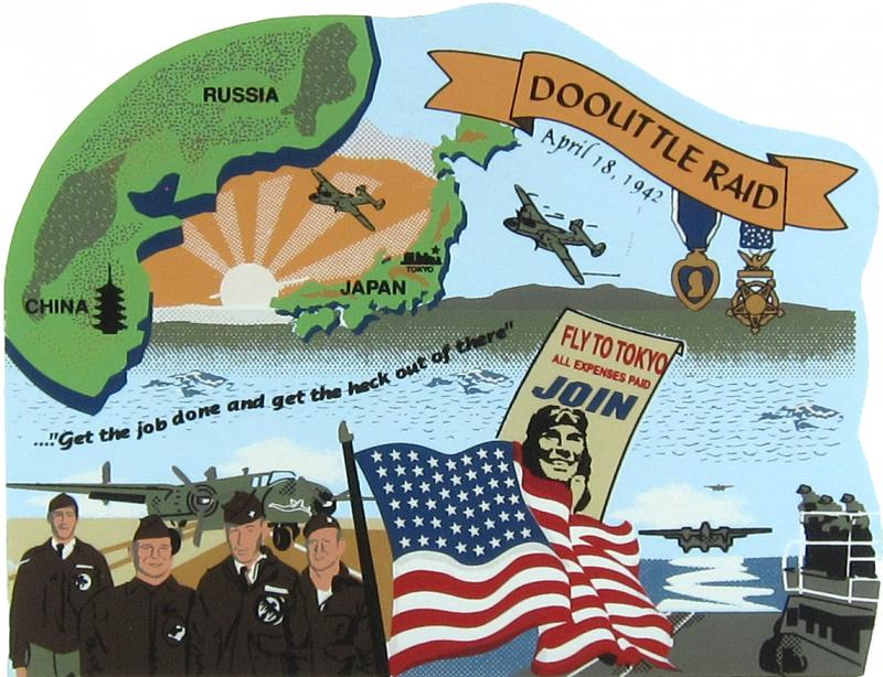 pearl harbor and the doolittle raid The doolittle raid, also known as the based on a japanese war crimes trial of captured american airmen from the doolittle raid the 2001 film pearl harbor.