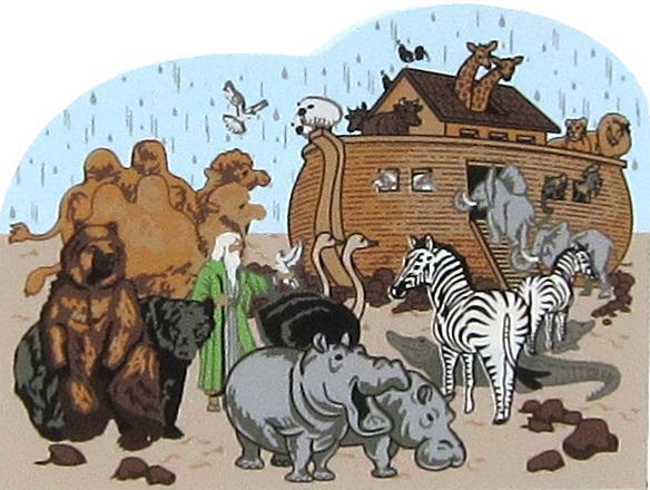 Noah S Ark Genesis 5 29 10 32 The Cat S Meow Village