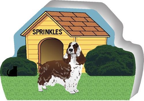 Dog House, English Springer Spaniel, PURRsonalize Me! | The