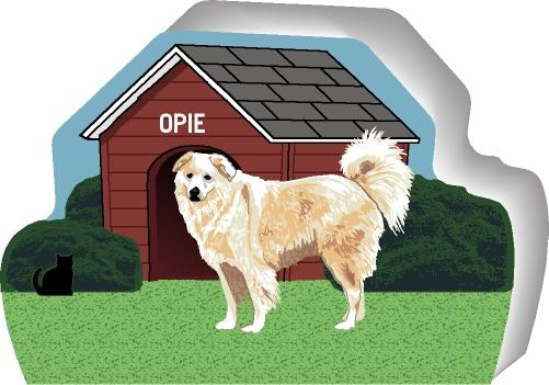 Great Pyrenees Can Be Personalized With Your Dog S Name On The House