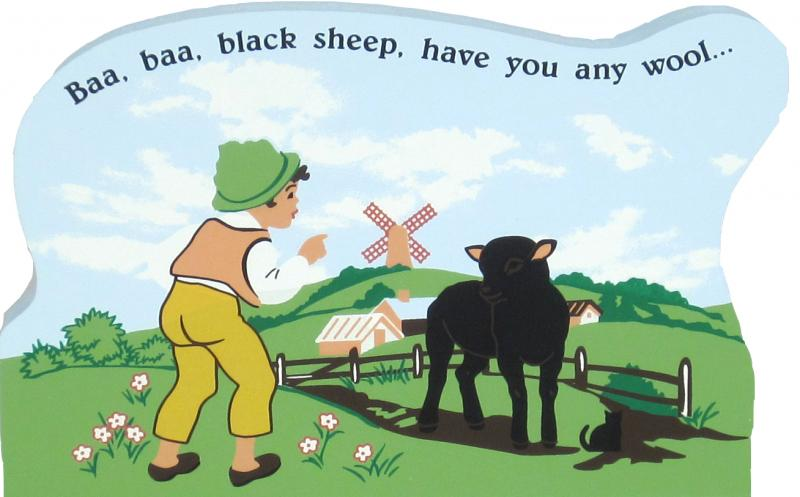 Baa! Baa! Black Sheep | The Cat's Meow Village