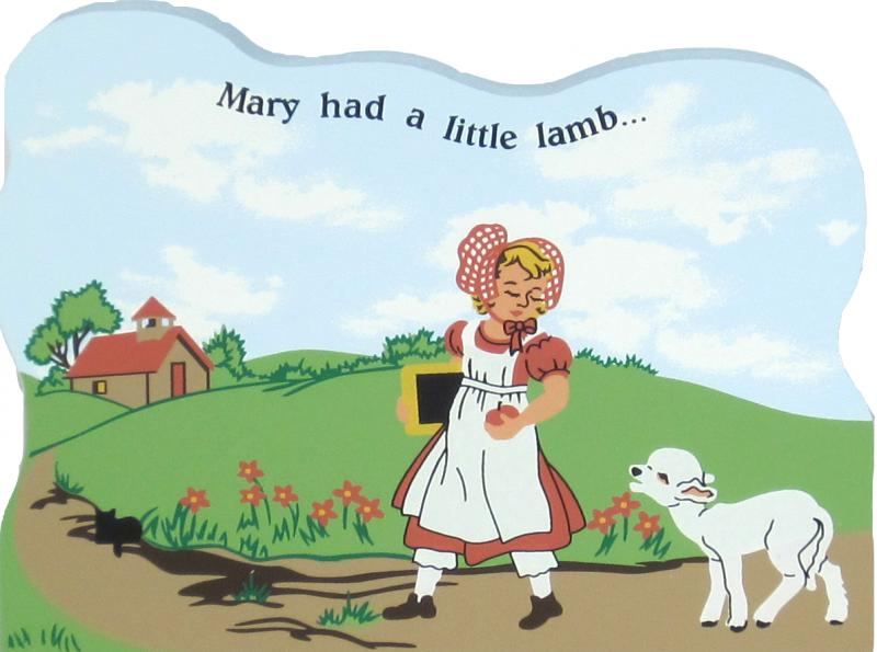 Mary Had A Little Lamb Nursery Rhymes Lambs
