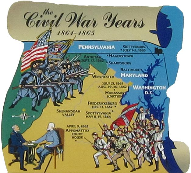 the civil war major battle in 1861 Seeing more major civil war battles than any other state, virginia was a  prominent part of the confederate states of america in the winter of 1860–1861, .