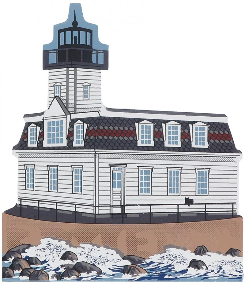 Rose Island Lighthouse | The Cat\'s Meow Village