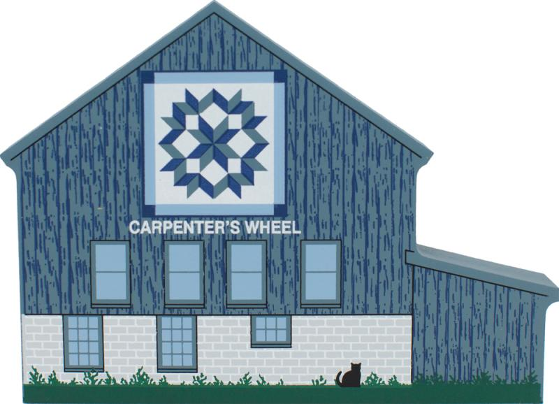 Carpenter S Wheel Quilt Barn The Cat S Meow Village