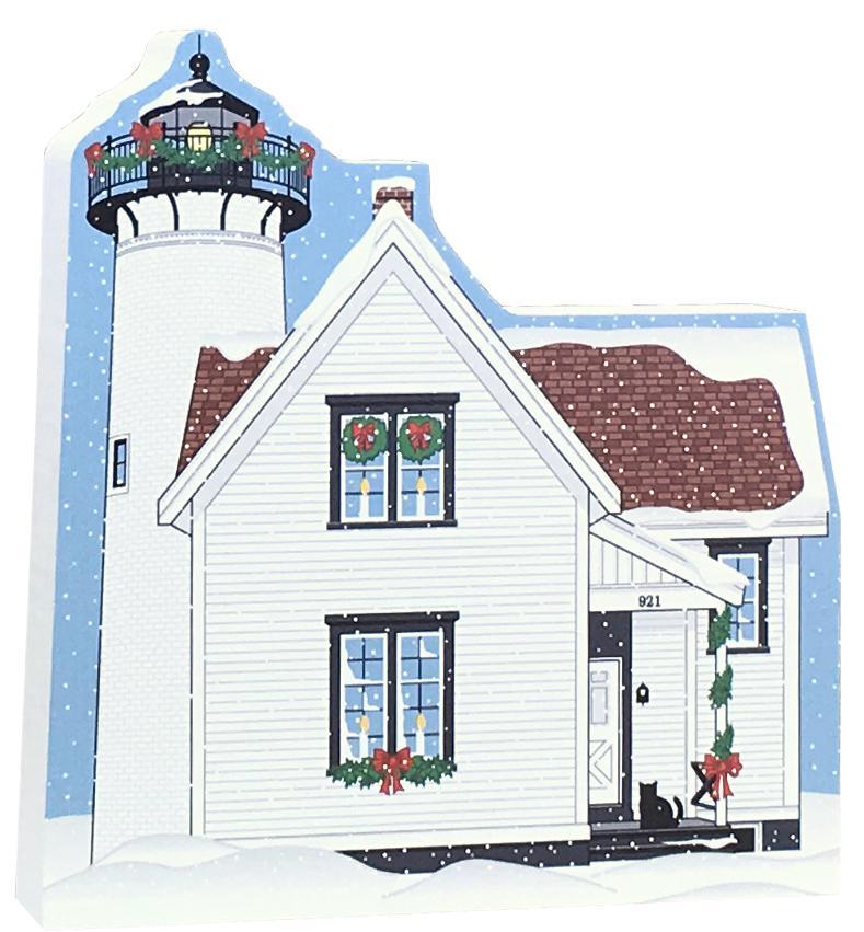 Martha\'s Vineyard Christmas West Chop Lighthouse | The Cat\'s Meow ...