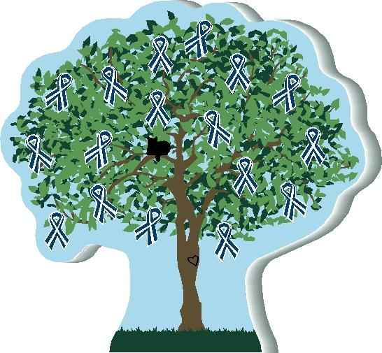 ALS Awareness Tree | The Cat's Meow Village