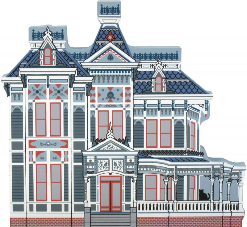 Astounding Parrot House Victorian Home The Cats Meow Village Home Interior And Landscaping Synyenasavecom