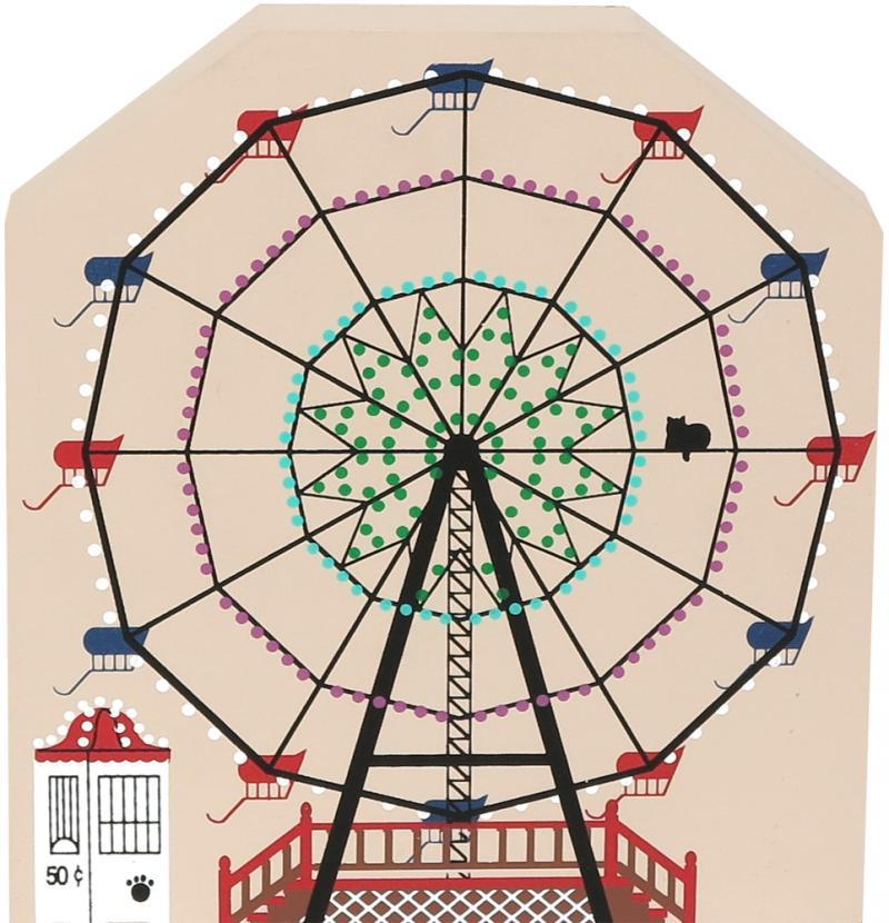 circus ferris wheel the cat s meow village