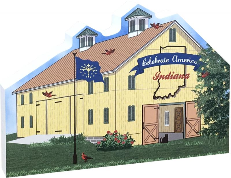 State Barn Indiana The Cats Meow Village