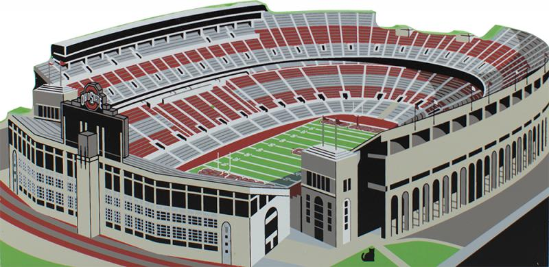 Osu stadium columbus oh the cats meow village buckeye football scarlet gray the horseshoe columbus ohio ohio state malvernweather Images