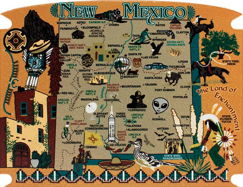 RA699_1 Show Me A Map Of New Mexico State on show me a map of new york, show me a map of new england, ma new mexico, pitchers of the map of new mexico, large map of new mexico, online map of new mexico, show state of new mexico on map, mapquest hobbs new mexico, atlas map of new mexico, show me a map texas,