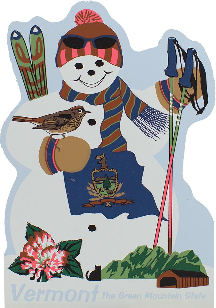 Vermont State Snowman The Cat S Meow Village