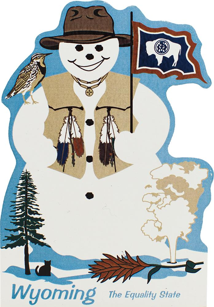 Wyoming State Snowman The Cat S Meow Village