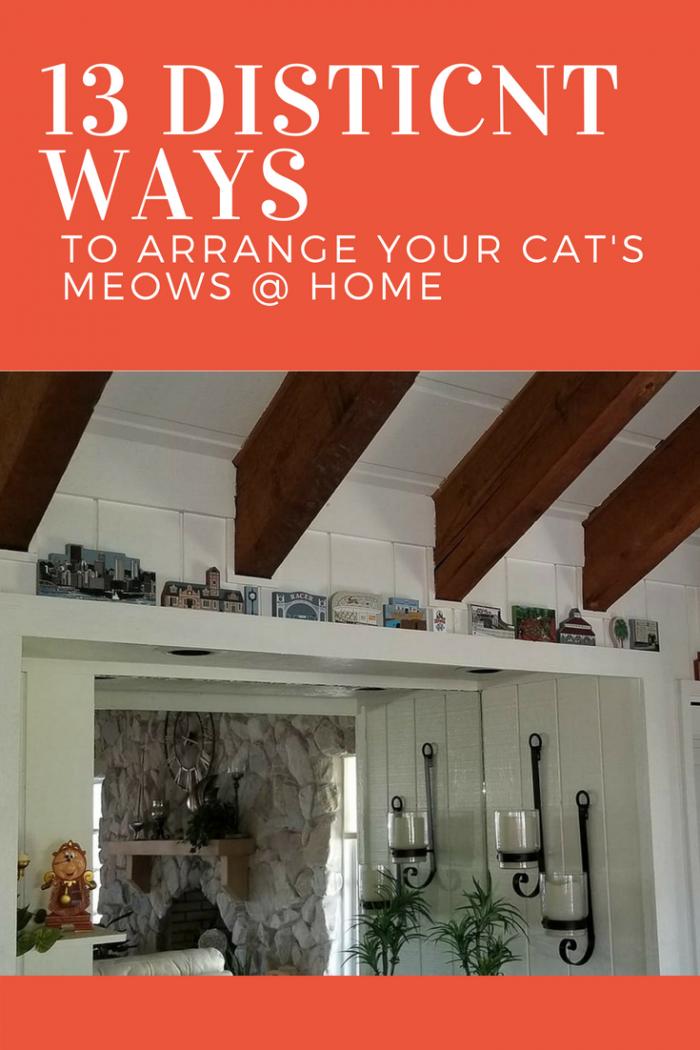 13 Distinct Ways To Arrange Your Cat's Meows @ Home