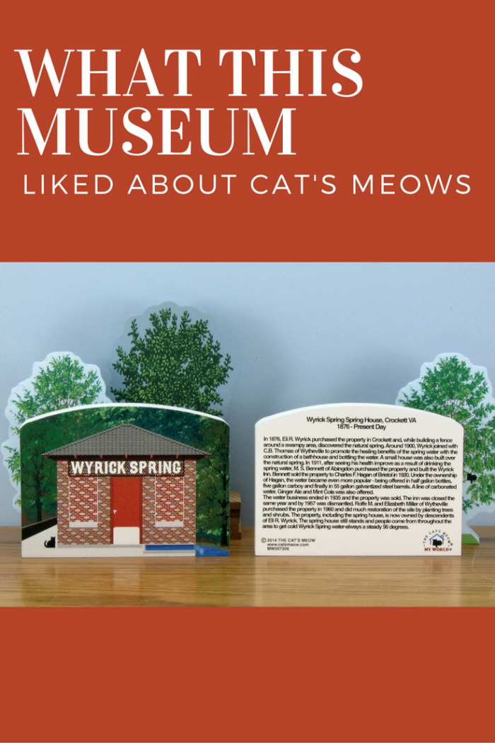 The Town of Wytheville Department of Museums in Wytheville, VA searched for the perfect fundraiser, and found The Cat's Meow Village.
